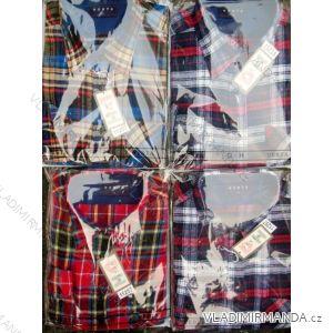 Košile flanelová teplá silnější pánská (40-49) VESTA 11257 TIPDAREK