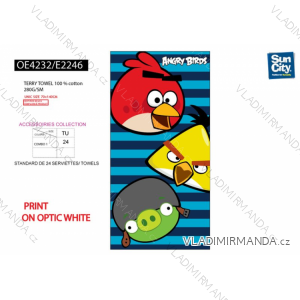 Osuška angry birds dětská (univerzální) SUN CITY OE4232 2601