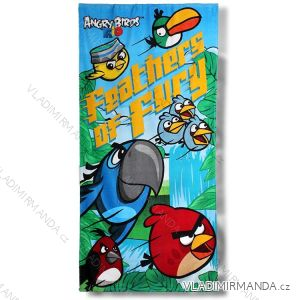 Beach towels children s (70   140cm) ANGRY BIRDS SETINO 820-352 4d86129ea2