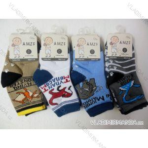 Ponožky slabé protiskluzové dětské chlapecké kvalitnější(17-22,23-27) AMZF ZCA4-8501