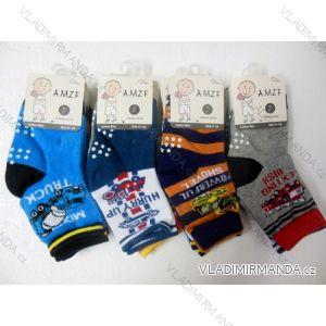 Ponožky slabé protiskluzové dětské chlapecké kvalitnější(17-22,23-27) AMZF ZCA4-8504