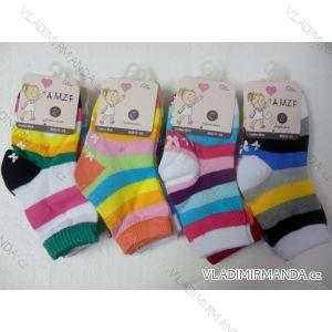 Ponožky slabé protiskluzové dětské dívčí kvalitnější(17-22,23-27) AMZF ZCB4-9602