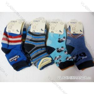 Ponožky slabé protiskluzové dětské chlapecké (17-23,23-26) AMZF ZCA-504