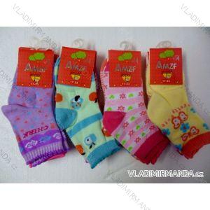 Ponožky slabé  dětské dívčí (17-23,23-26) AMZF ZCB3-502