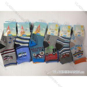 Ponožky slabé  dětské chlapecké (17-23,23-26) AMZF ZCA3-406