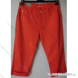 Kalhoty plátěné 3 4 krátké dámské (38-48) SMILING JEANS N459 95016b9b6a