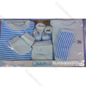 Komplet (7 ks) kojenecký dívčí a chlapecký (0-6 měsíců) TURECKá VýROBA TV04