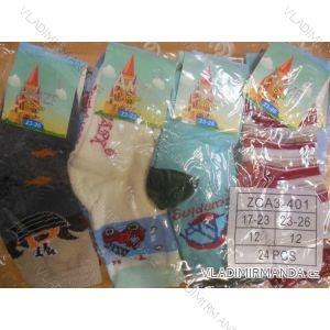 Ponožky slabé protiskluzové dětské chlapecké (17-23,23-26) AMZF ZCA3-401