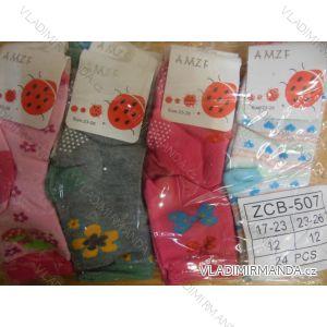 Ponožky slabé  protiskluzové dětské dívčí (17-23,23-26) AMZF ZCB-507