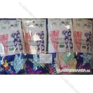 Legíny slabé dívčí dětské dorost bambusové  (92-152) W.D RH-004