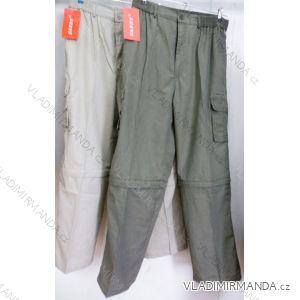 Kalhoty plátěné  odepínací nohavice pánské nadrozměrné (l-3xl) SANDY P1375