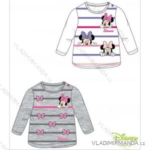 Tričko dlouhý rukáv kojenecké dívčí minnie (3-24měsíců) TV MANIA 121470