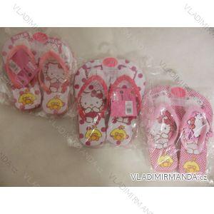 Žabky hello kitty dětské dívčí (27-34) STAMION HK08088