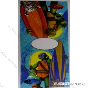 Osuška pončo ninja turtle dětská chlapecká (50*100 cm)  STAMION NT09102