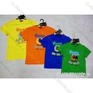 Tričko krátký rukáv dětské dorostenecké chlapecké (112-146) FORTOG 71023