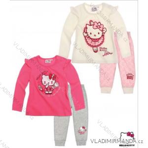 Tričko dlouhý rukáv + legíny dětské  kojenecké hello kitty  (3-24m) TV MANIA 119092/02