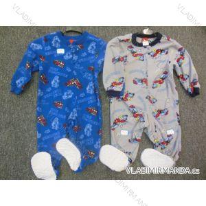 Overal teplý flaušový kojenecký chlapecký (6-36 měsíců) AODA A130701