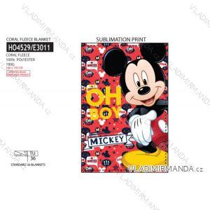 Přikrývka mickey mouse dětská chlapecká (uni) SUN CITY HO4529