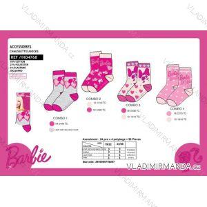 Ponožky barbie dětské dívčí (19-26) SUN CITY HO4768