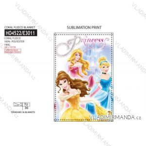 Deka dětská dívčí (100x150) PRINCESS SUN CITY HO4522