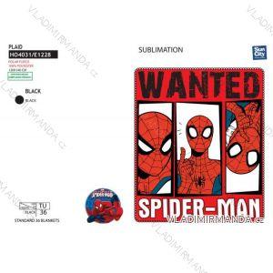 Deka dětská chlapecká spiderman (univerzální) SUN CITY HO4031