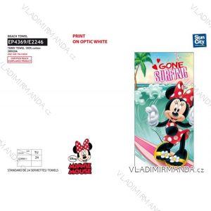 Osuška plážová minnie mouse dětská dívčí (70*140 cm) SUN CITY EP4369