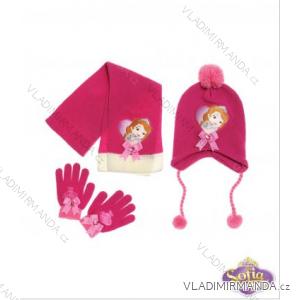 Zimní set (čepice, rukavice a šála) sofie první (46-54) TV MANIA 124072