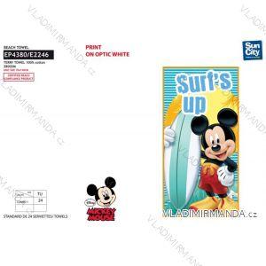 Osuška plážová mickey mouse dětská chlapecká (70*140 cm) SUN CITY EP4380