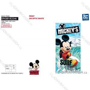 Osuška plážová mickey mouse dětská chlapecká (70*140 cm) SUN CITY EP4381