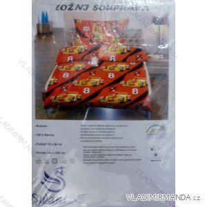 Ložní souprava jersey sheet bavlněná dětská (70x90+140x200) HAT HT015
