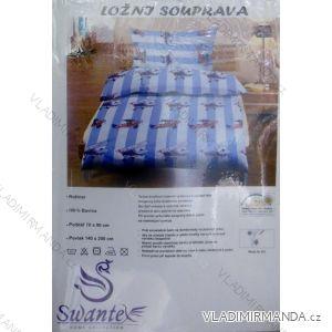Ložní souprava jersey sheet bavlněná dětská (70x90+140x200) HAT HT016