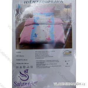 Ložní souprava jersey sheet bavlněná dětská (70x90+140x200) HAT HT017
