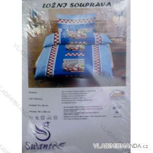 Ložní souprava jersey sheet bavlněná dětská (70x90+140x200) HAT HT020