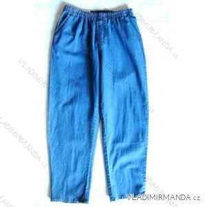 Rifle jeans dámské (m-xxxl) S GUMOU V PASE SUCCESS 0827
