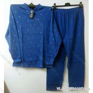 Pyžamo dlouhé pánské bavlněné nadrozměrné ( xl-4xl) HAF W-046C TIPDAREK