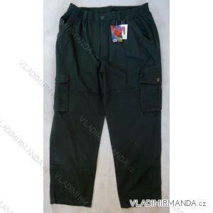 Kalhoty slabé plátěné pánské v pase do gumy (l-3xl) BATY QNAM KAKI-TUI KHOA