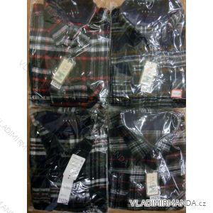 Košile flanelová silná zateplená pánská (42-49) VESTA 11270