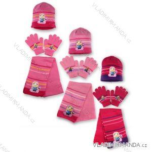 618a6567ec Set čiapka rukavice a šál detské dievčenské Mimoni (univerzálny) SETINO  780-185