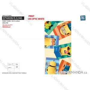 Osuška plážová mimoni dětská (70*140 cm) SUN CITY EP4408