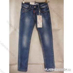 Rifle jeans dorostenecké dívčí (128-164) MISS CURRY T986