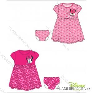 Šaty + kalhotky minnie mouse kojenecké dívčí (3-24m) TV MANIA 133221