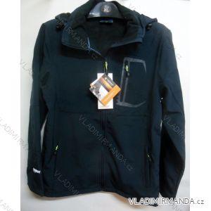 Bunda softshell outdoor pánská flaušová podšívka (m-xxl) TURNHOUT 56468