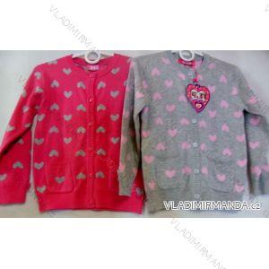 Svetr pulovr kojenecký a dětský dívčí (1-5 let) SAD XYL-88