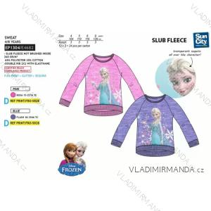 Mikina  frozen dětská dívčí (4-8 let) SUN CITY EP1304
