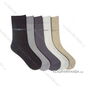 Ponožky slabé comfort se stříbrem vyšší lem (25-32 cm) NOVIA 16P ae4b8ffdf3