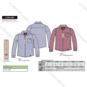 Košile dlouhý rukáv lee cooper dorost chlapecká (8-16 let) SUN CITY LCHM1087