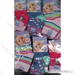 Ponožky slabé kojenecké dívčí (0-36 měsíců) LOOKEN ZTY-6220