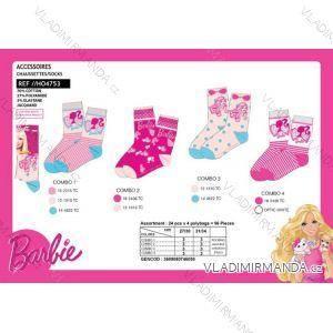 Ponožky barbie dětské dívčí (27-34) SUN CITY HO4753